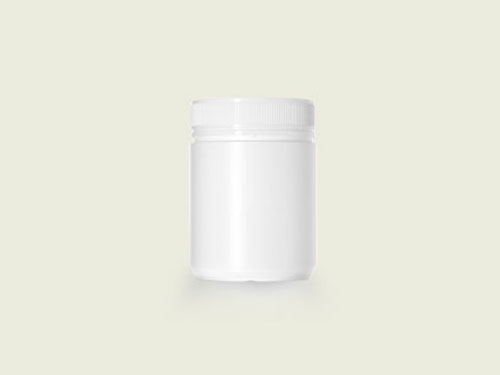 POWDER POT 83MM 500ML WHITE (5733)