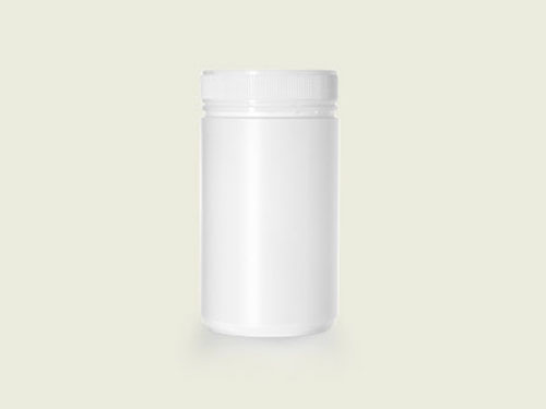 POWDER POT 83MM 750ML WHITE (5735)