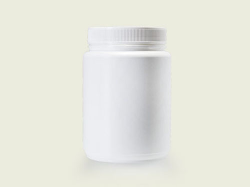 POWDER POT 100MM 1.5L WHITE (5737)