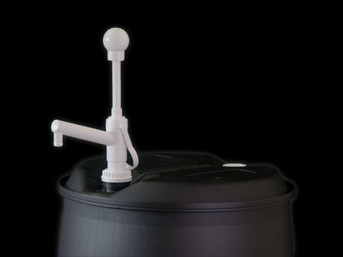 Closeup of Ezi-action® 200/55 Drumpump on 4260 200L Drum