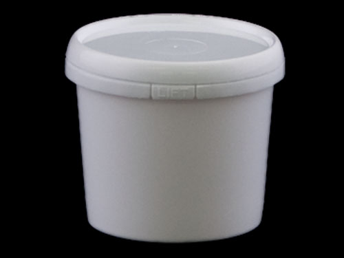 Closeup of Ezy Pail 250ml with 6516 Lid