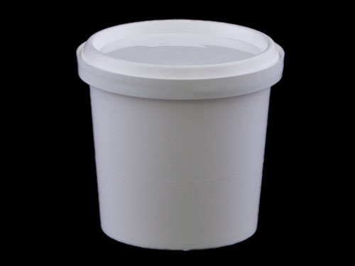 Closeup of Redi-2-Pak Pail 500ml with Lid