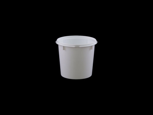 XXX TOP PAIL 1.5L WHITE (6807)