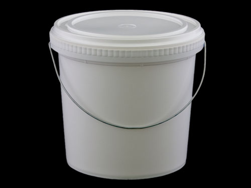 Closeup of Pry Off Pail 4L with 6829 Lid