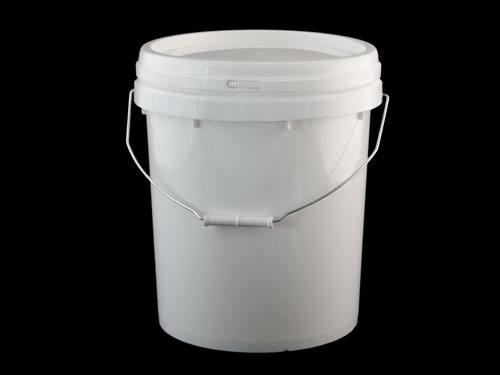 Logisticx Pail With Snap Lid 20L - With Lid On