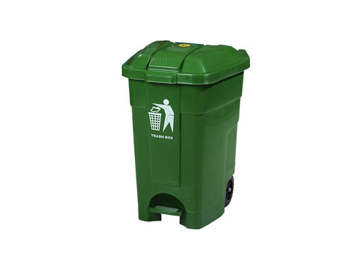 LogisticX Mobile Garbage Bin (2 Wheels) 70L
