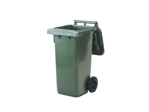 Mobile Garbage Bin (2 Wheels) 80L - Open