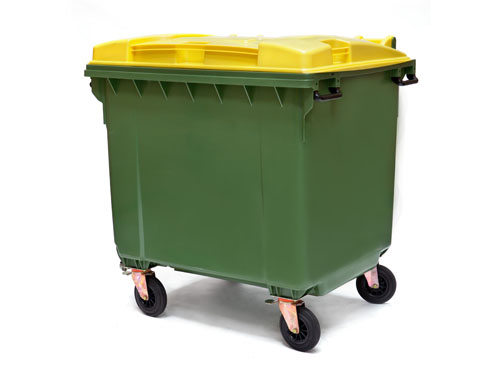 XIN Mobile Garbage Bin (4 Wheels) 660L