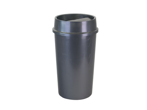 Flip Top Rubbish Bin with Lid 60L